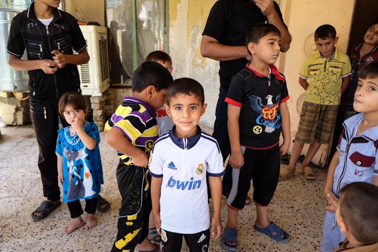 Turkmen children you're helping us serve
