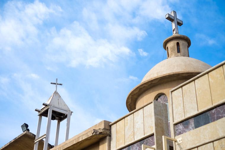 An Iraqi Christian church in Baghdad