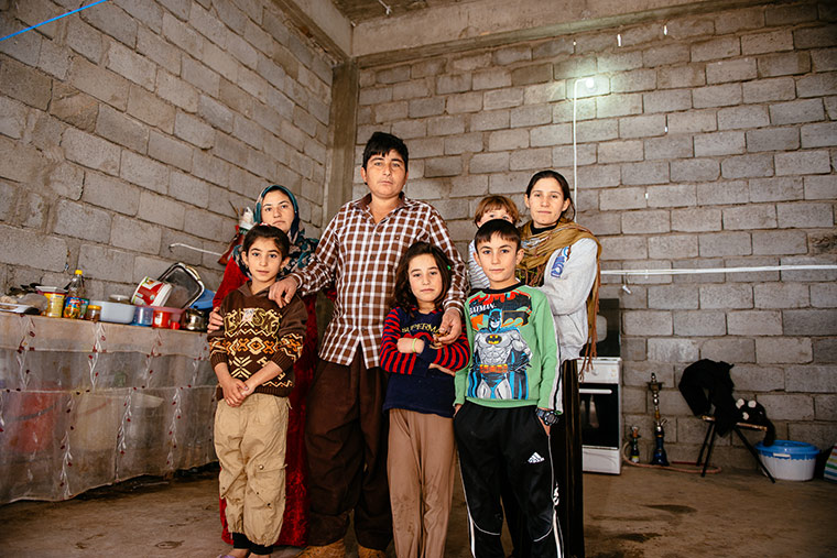 We met displaced dads who scooped up their families in the middle of the night to run away from ISIS, and took in two young girls whose parents had been killed.