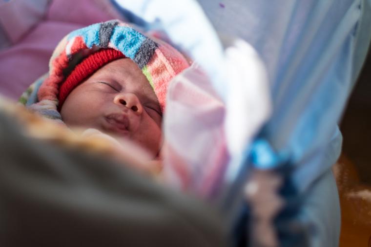 It's a boy! Meet Aram.