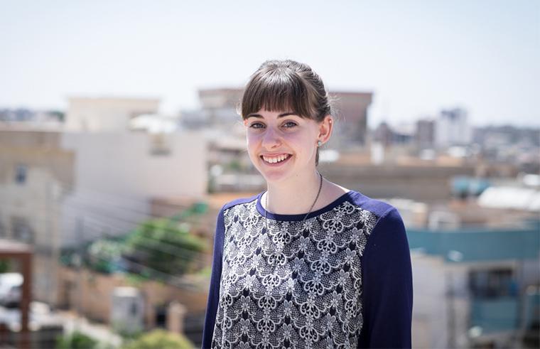 Alicia Hughes, summer intern for Preemptive Love Coalition in Iraq.