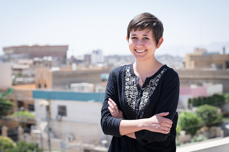 Janet Eckels, summer intern for Preemptive Love Coalition in Iraq.