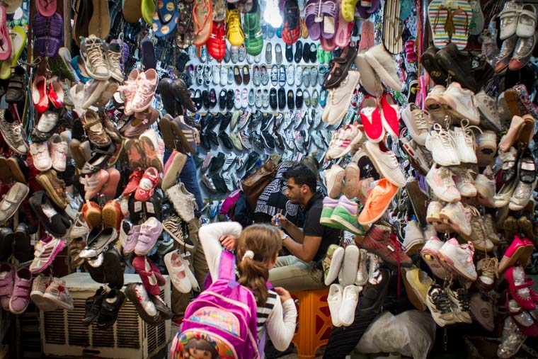 Shopping for shoes can be a little visually overwhelming!