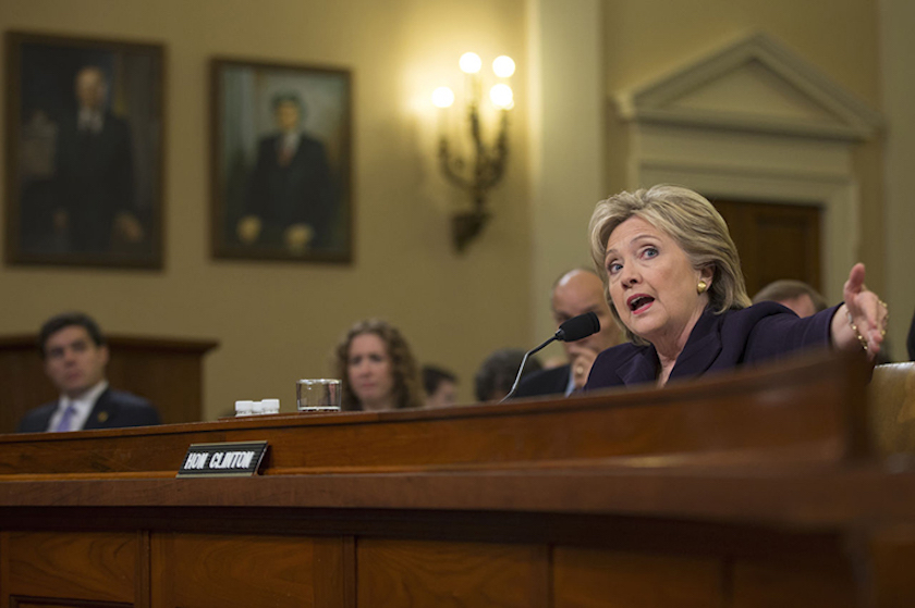Hillary Clinton recently appeared at the 8th hearing into the loss of life during an attack on the US embassy in Benghazi in 2012.