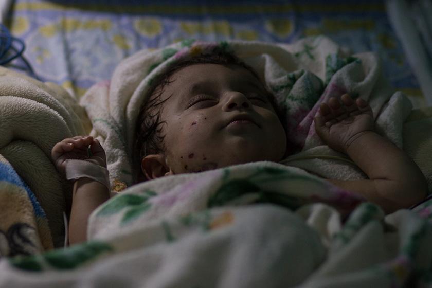 Muttah sleeps soundly, a wonderful remedy for his healing heart.