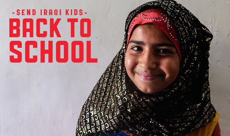 Suham picks through garbage to support her family, but more than anything she wants to go to school.