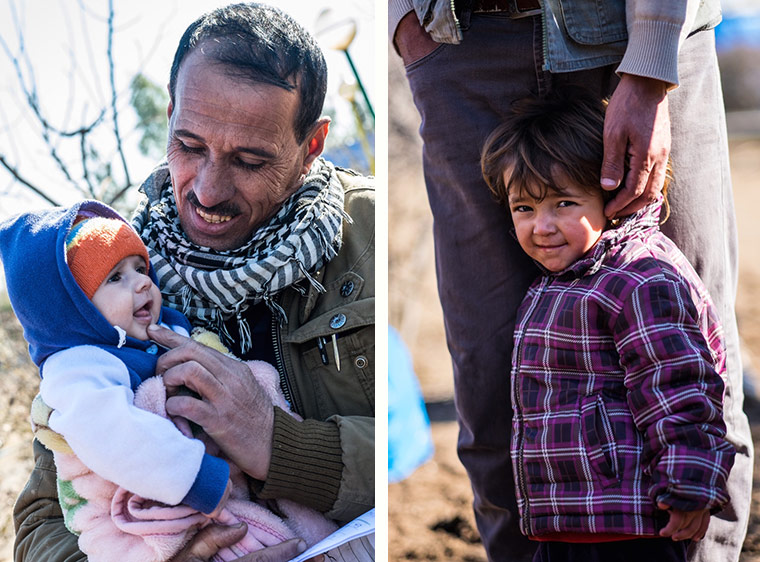 Families of displaced Yezidis from Shingal are still displaced, a year after ISIS drove them from their homes. But the fathers in these families take very good care of them.