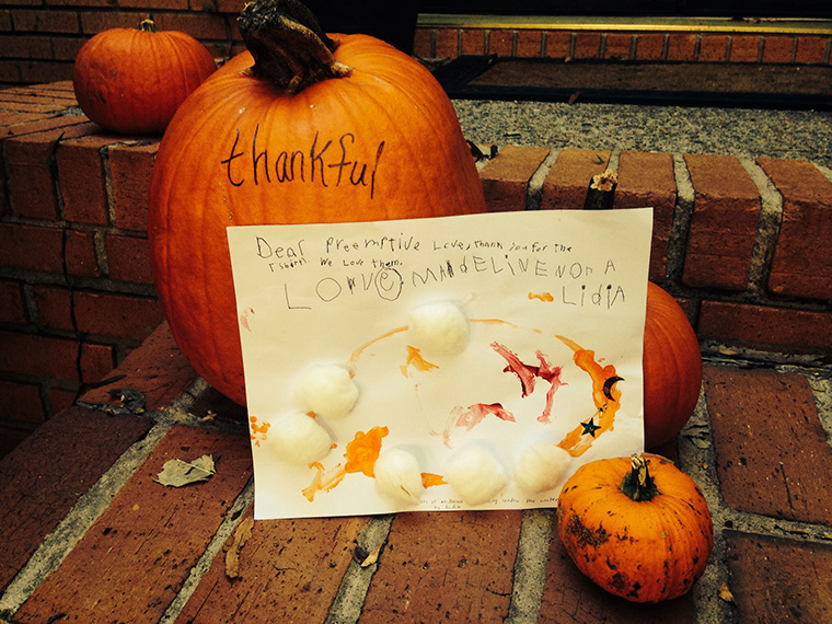 We're so thankful for you! And thanks to Madeline, Nora, and Lidia for the awesome note!