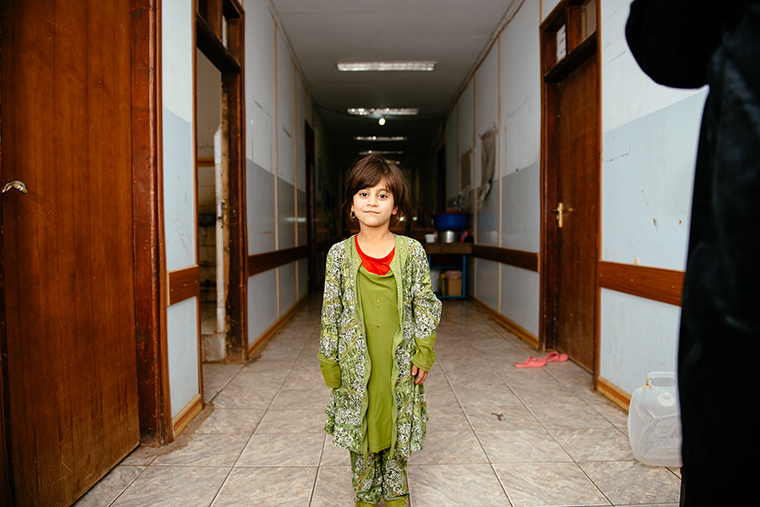 Temporary home for Isra—a school