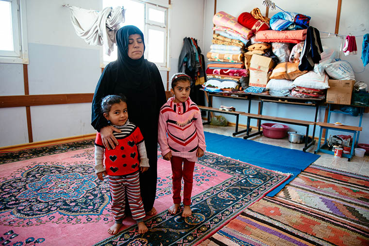 Raza and her daughters start over as IDPs