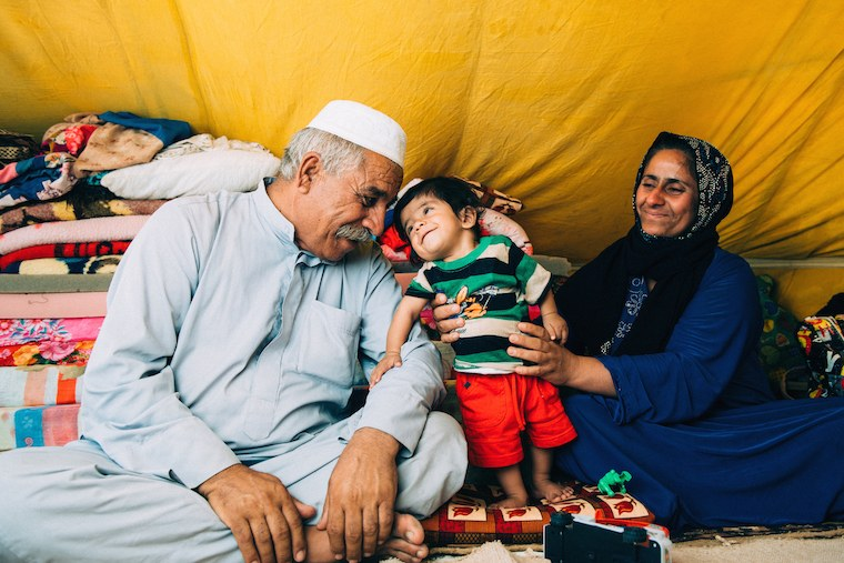 Majid and his family fled ISIS twice, but never gave up hope that their son's heart would be fixed.