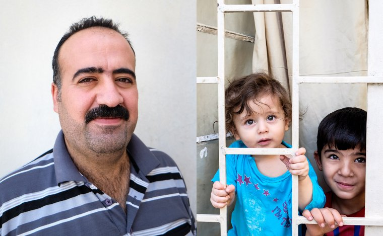 After fleeing ISIS with his family, Jamal returned again and again, to buy the freedom of captured Yezidi girls.