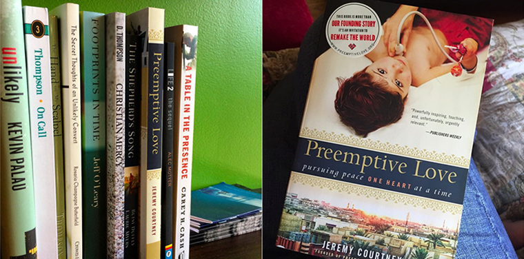 We love it when you post photos while reading Preemptive Love!