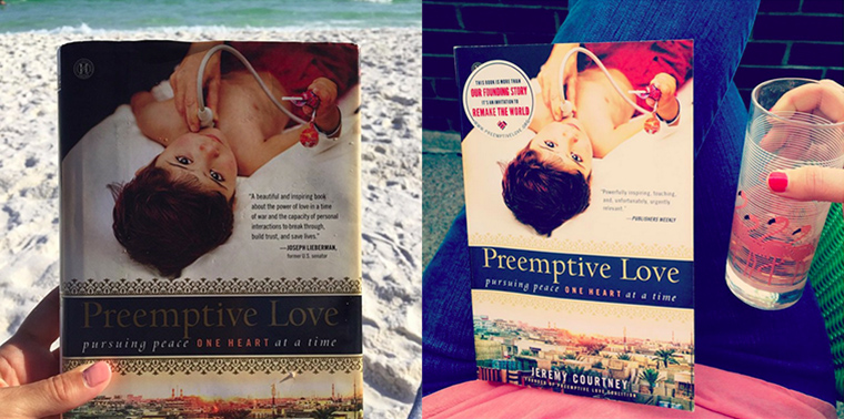 Where are you reading our book Preemptive Love?