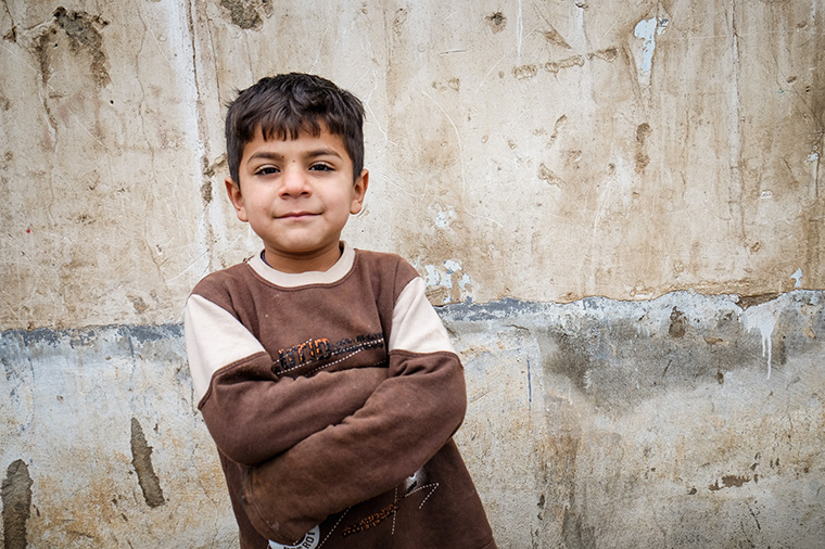 A young boy who was displaced by ISIS last year found a home within Kurdistan. His family has few options.