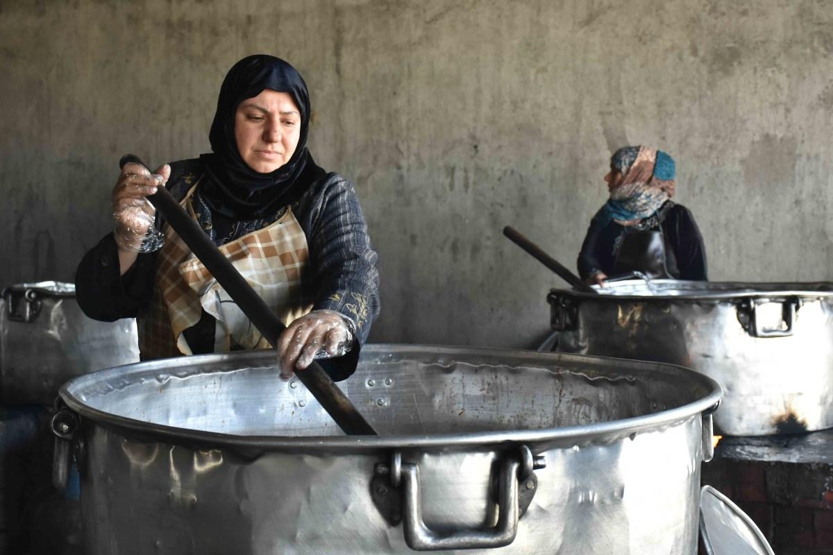 Deir ez-Zor emergency kitchen