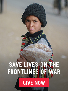 save lives on the frontlines of war