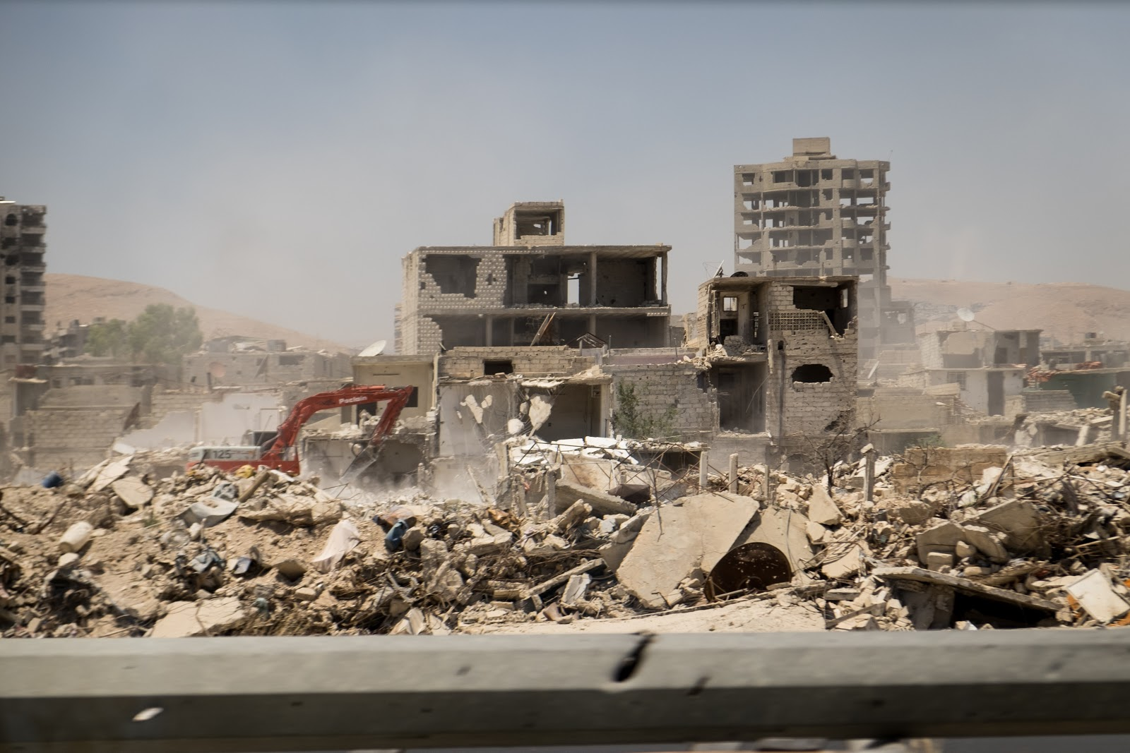 Syrian rubble